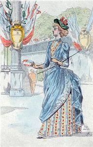 Mode 1878, Mode in het negentiende-eeuwse Parijs, Henri Boutet, (1851 1919),