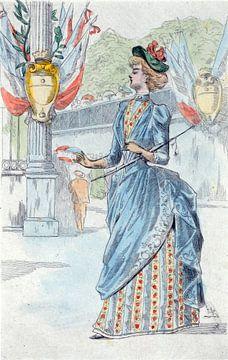 Damenmode des 19. Jahrhunderts in Paris (1878), Henri Boutet