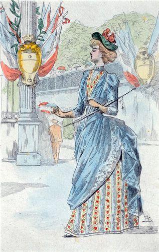 Mode 1878, Mode in het negentiende-eeuwse Parijs, Henri Boutet, (1851 1919), van