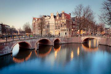 Amsterdamse grachten sur Eric Andriessen