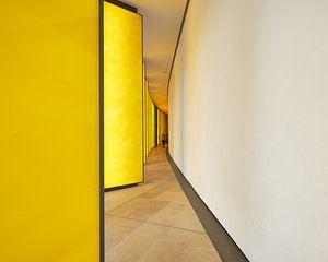 Gele panelen van