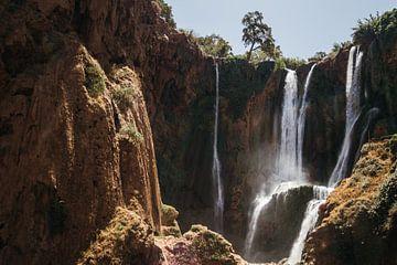 Ouzoud Watervallen van Patrycja Polechonska