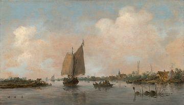 Blick auf den Fluss, Jan van Goyen