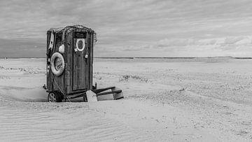 Strand  toilet van Timo Bergenhenegouwen