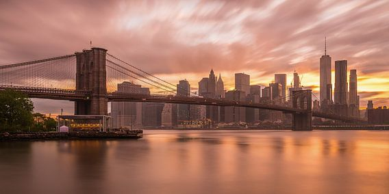 New York Skyline - Brooklyn Bridge 2016 (1)