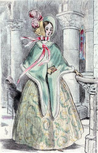 Mode 1839, Mode in het negentiende-eeuwse Parijs, Henri Boutet, (1851 1919) van