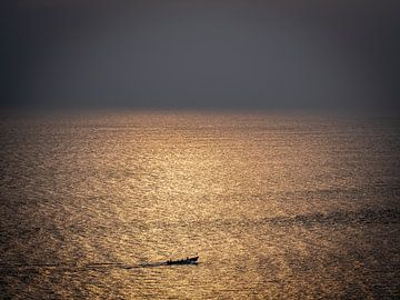 Von Kollam Indien auf dem Weg zum unendlichen Ozean von Rik Pijnenburg