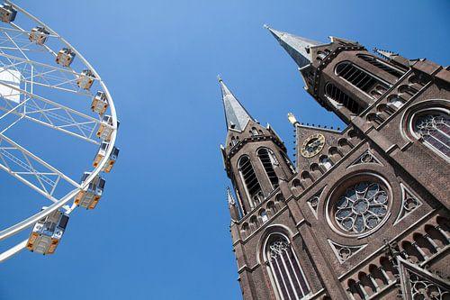 Kerk en Kermis in Tilburg van