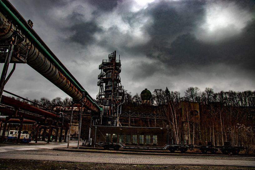 verlassene Fabrik von bert erven