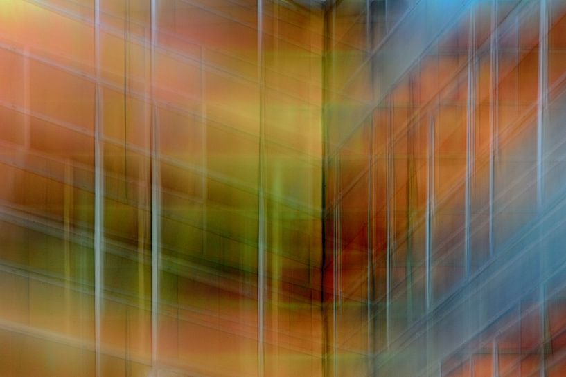 Colored wall #2 van Ruud de Soet