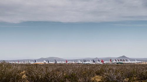 Plane graveyard van