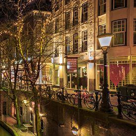 Stadhuis Utrecht aan de Stadhuisbrug van Peter Bolman