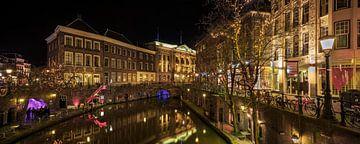 Stadhuis Utrecht aan de Stadhuisbrug