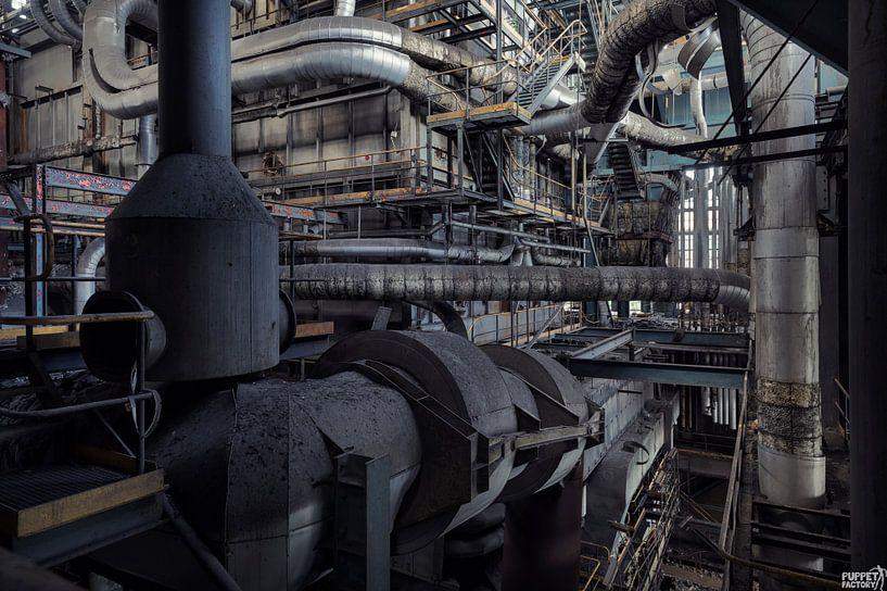 industrial planet  van Dieter Herreman