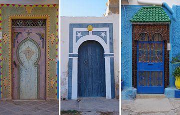 Marokkaanse deuren von Andrew Chang