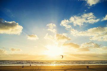 Zonnig Zandvoort van Casper De Graaf