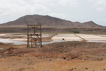 Salinas de Pedra de Lume - Sal, Kap Verde von Audrey Nijhof