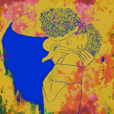 Der Kuss von Gustav Klimt Teil 2