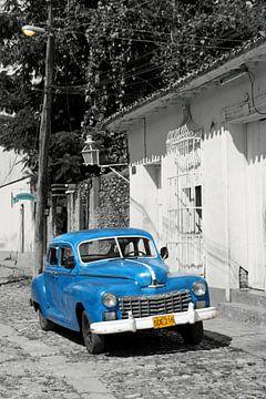 Typisch kubanische Straße von Robin Scholte