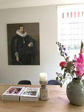 Photo de nos clients: Portret van Jacob Olycan, Frans Hals, sur toile