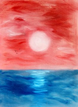 Zonsondergang van Yvonne Smits