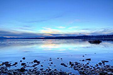 De rust van het Starnberg-meer van Roith Fotografie