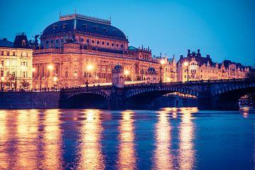 Prag - Nationaltheater von Alexander Voss
