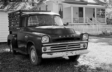 Oxford Mississippi - Alter Kleintransporter von Raoul Suermondt