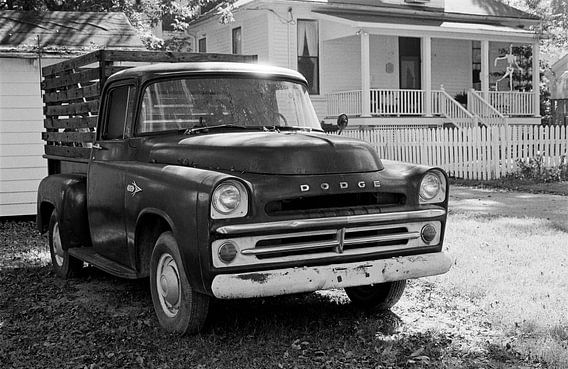 Oxford Mississippi - Oude pick-up truck