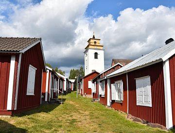 Kirchenstadt in Schweden von Anne Travel Foodie