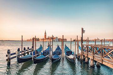 Venetië in de ochtend van Manjik Pictures