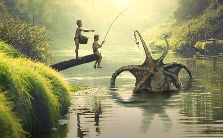 Gigantische Octopus