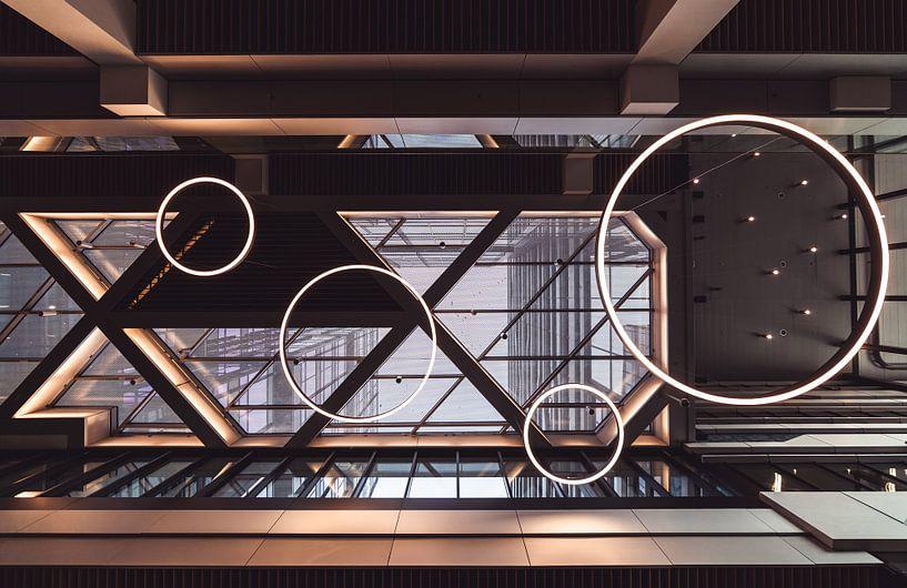 Architektonische Details eines Daches von Jonai