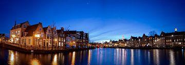 Panorama van het Spaarne in Haarlem - Maart 03