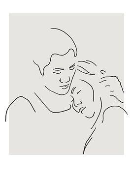 Füreinander da sein von Natalie Bruns