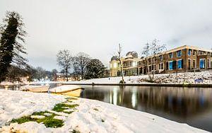 Sterrewacht sneeuw van