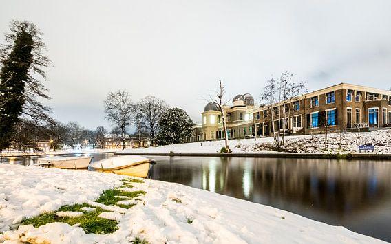 Sterrewacht sneeuw van Jordy Kortekaas