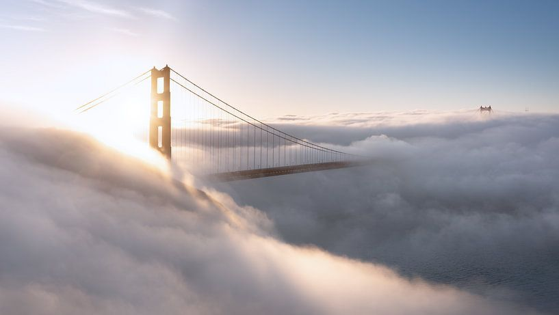 Golden Gate Bridge, San Francisco sur Reinier Snijders