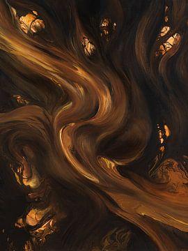 Goldener Fluss von Miriam Sanders