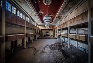 Verlaten theater van
