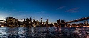 New York Manhattan financial district van