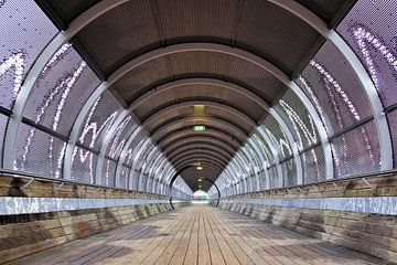 Voetgangersbrug Hilversum van Cor Oosterbeek