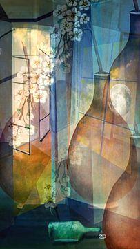 Chambre avec vase sur Gertrud Scheffler