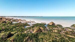 Het harde strand bij Westkapelle van Josephine Huibregtse