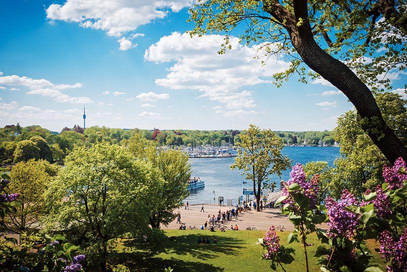 Berlin – Wannsee Lake van Alexander Voss