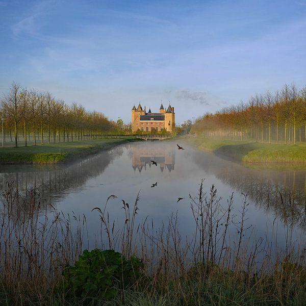 Zicht op Slot Assumburg, Heemskerk van Paul Beentjes
