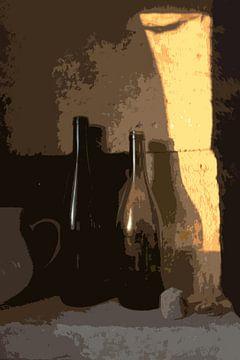 Nature morte avec bouteilles van Susan Hol