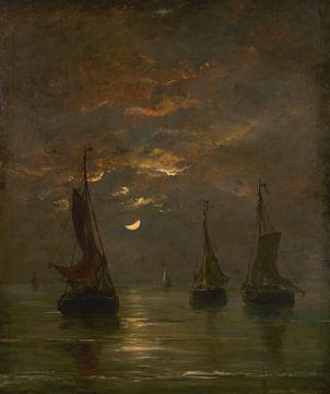 Nacht mit Mondenschein, Hendrik Willem Mesdag