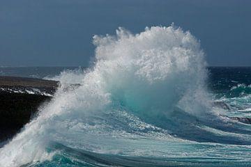 Golven op Curacao sur