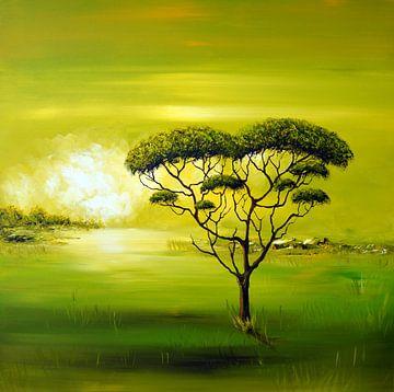 Green  Nature sur Gena Theheartofart
